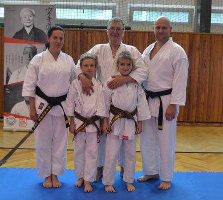 Po tréninku v Praze se soke Ilija Jorga 10.Dan WFF, zakladatel světové federace Fudokan Shotokan. Soke Ilija Jorga trénoval u japonského mistra Murakamy, mistra Kase a mistra Nishiyami. V roce 1972 byl vícepresident WUKO - nyní WKF. (2017)